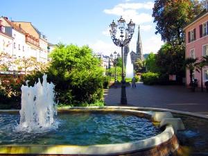 Baden-Baden.-Augustaplatz.Sommer1